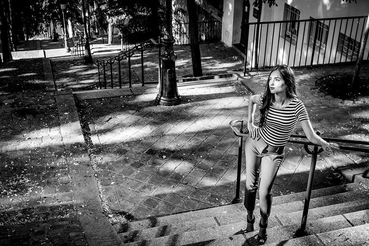 peRCeption - Renaud Couderc - séance photo en solo - Paris quartier de la bute Montmartre et du sacré coeur